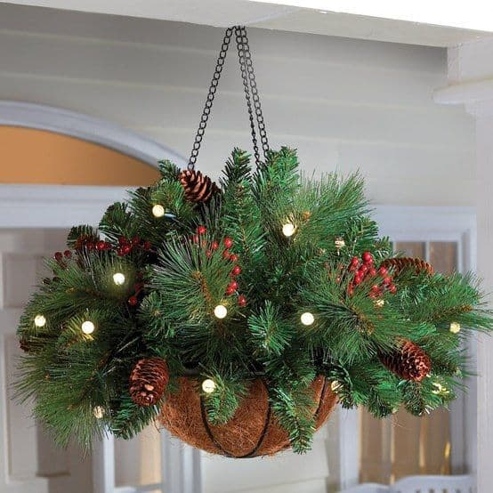 Merry Planters and Hanging Baskets