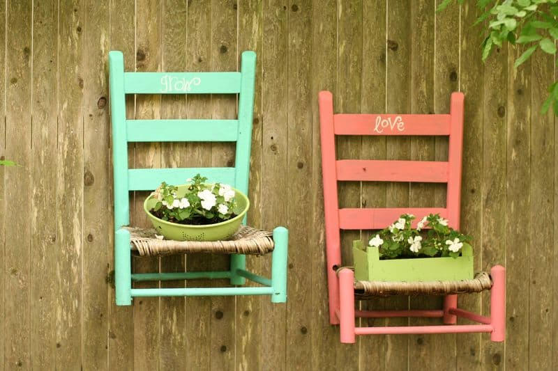 chair-planters