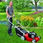 self propelled or push lawn mower