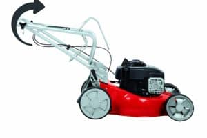 Einhell 3404585 Self Propelled Petrol Lawnmower with a Briggs and Stratton Engine side