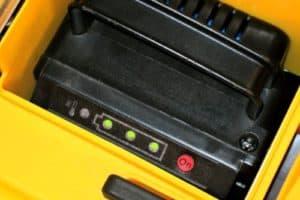 Evopower EVO1536Li Cordless Battery Powered Lawn Mower battery pack