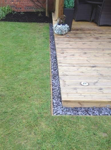 decking garden edging ideas