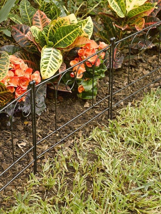 garden border fence