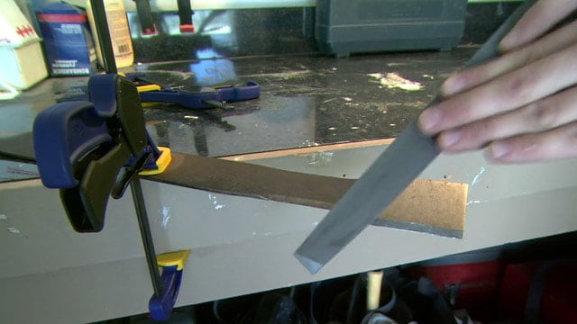 how to sharpen your lawn mower blade