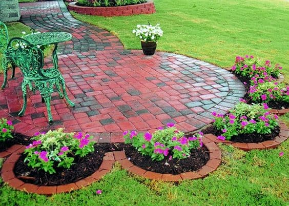 patio edging ideas