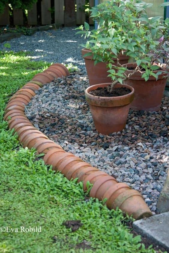 plant pot edging