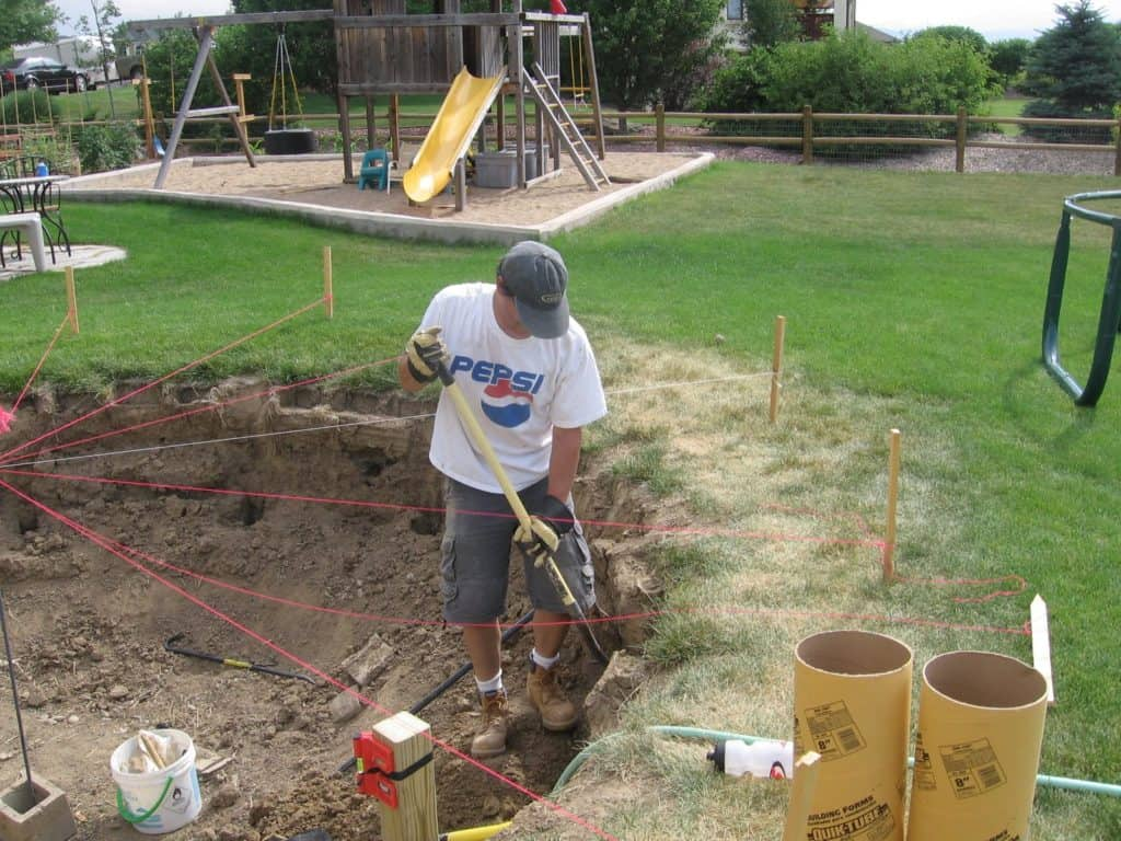sunken-trampoline-digging-and-planning