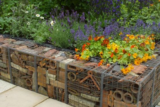 tile garden edging ideas