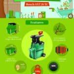 Our recommended garden shredder - Bosch AXT 25 TC