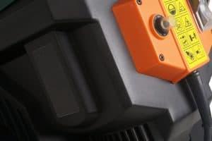 Dirty Pro ToolsTM Garden Shredder on button