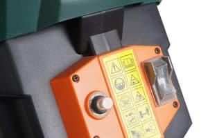 Dirty Pro ToolsTM Garden Shredder saftey mechanism