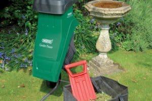 Draper 35900 230-Volt 2,400-Watt Garden Shredder bag