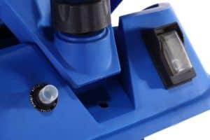 Homegear Electric Garden Shredder on button