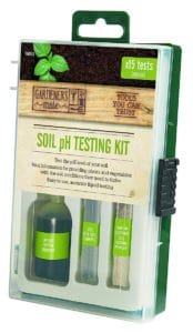 ph soil testing kit for ericaceous compost