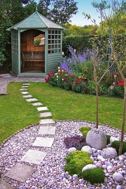 Small Garden Ideas To Transform Your Garden Into A ... on Landscape Garden Designs For Small Gardens id=79994