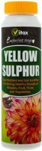 sulphur powder for ericaceous compost