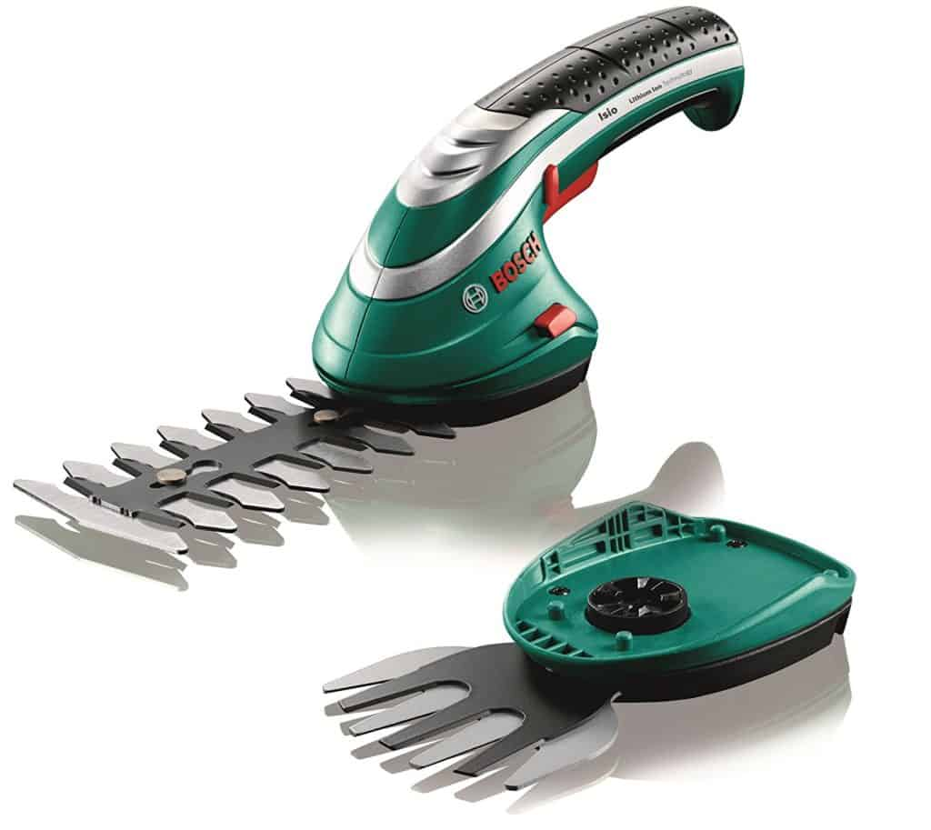Bosch Isio Cordless Shrub and Grass Shear Set