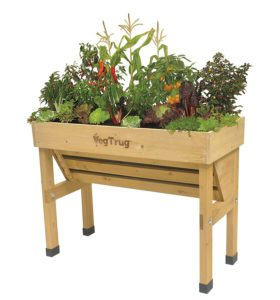 wall hugging vegtrug