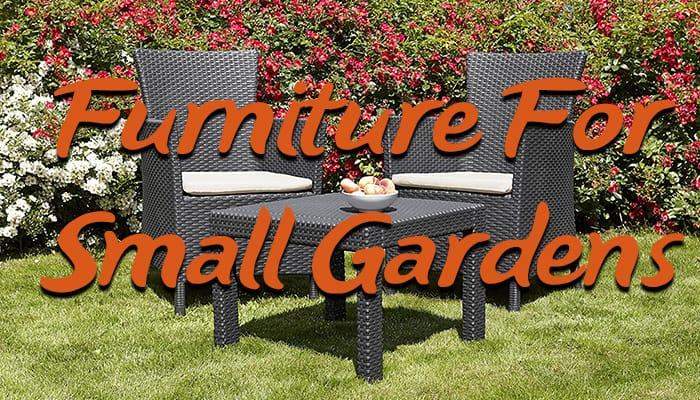 7 best garden furniture sets for small gardens - Garden Furniture For Small Gardens