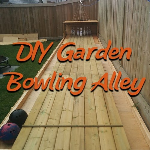 How to build a bowling alley in your back garden yeah seriously solutioingenieria Images
