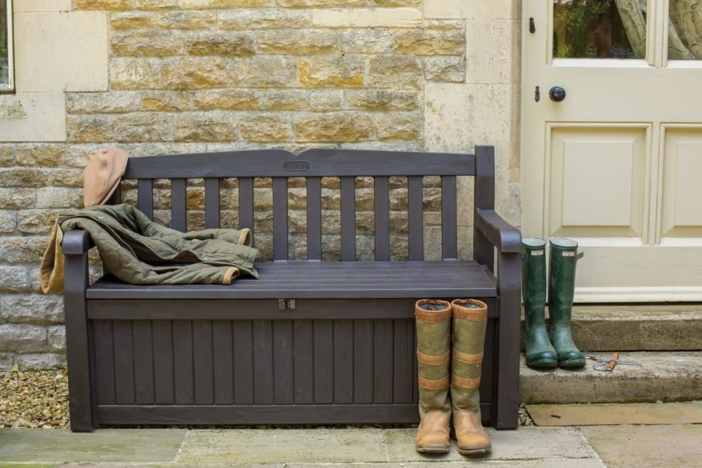 Norfolk Leisure Iceni Waterproof Storage Bench