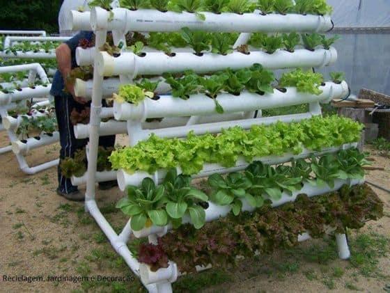 pvc pipe hydroponics