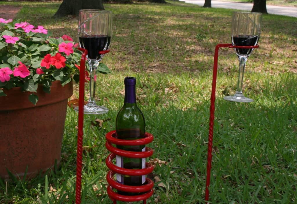 lawn wine rack