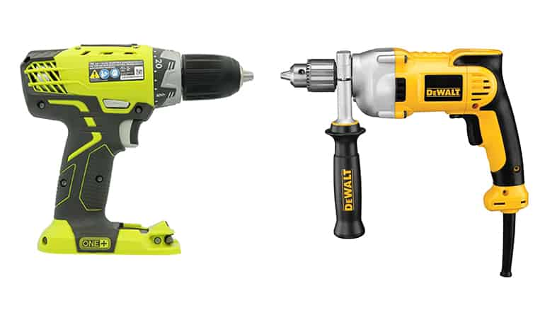 corded vs cordless drills which is better diy garden. Black Bedroom Furniture Sets. Home Design Ideas