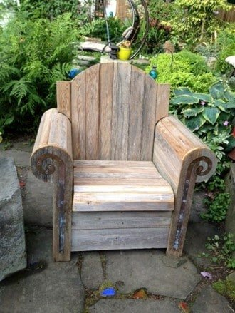 garden arm chair