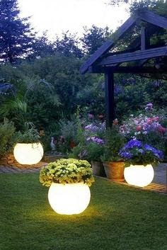 glow in the dark planters