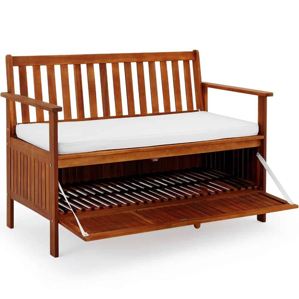 5 Best Garden Storage Benches 2019 Outdoor Storage Bench Reviews