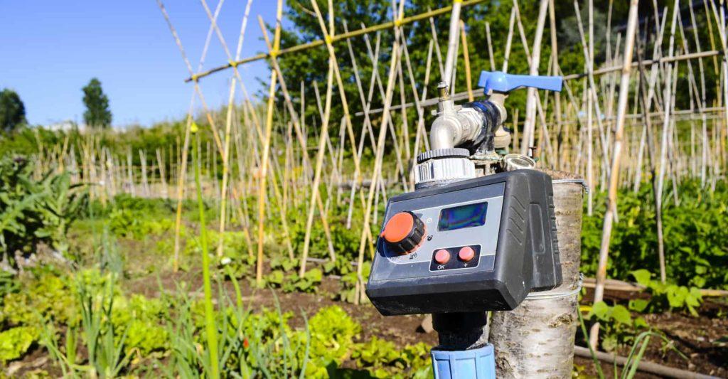 garden water timer