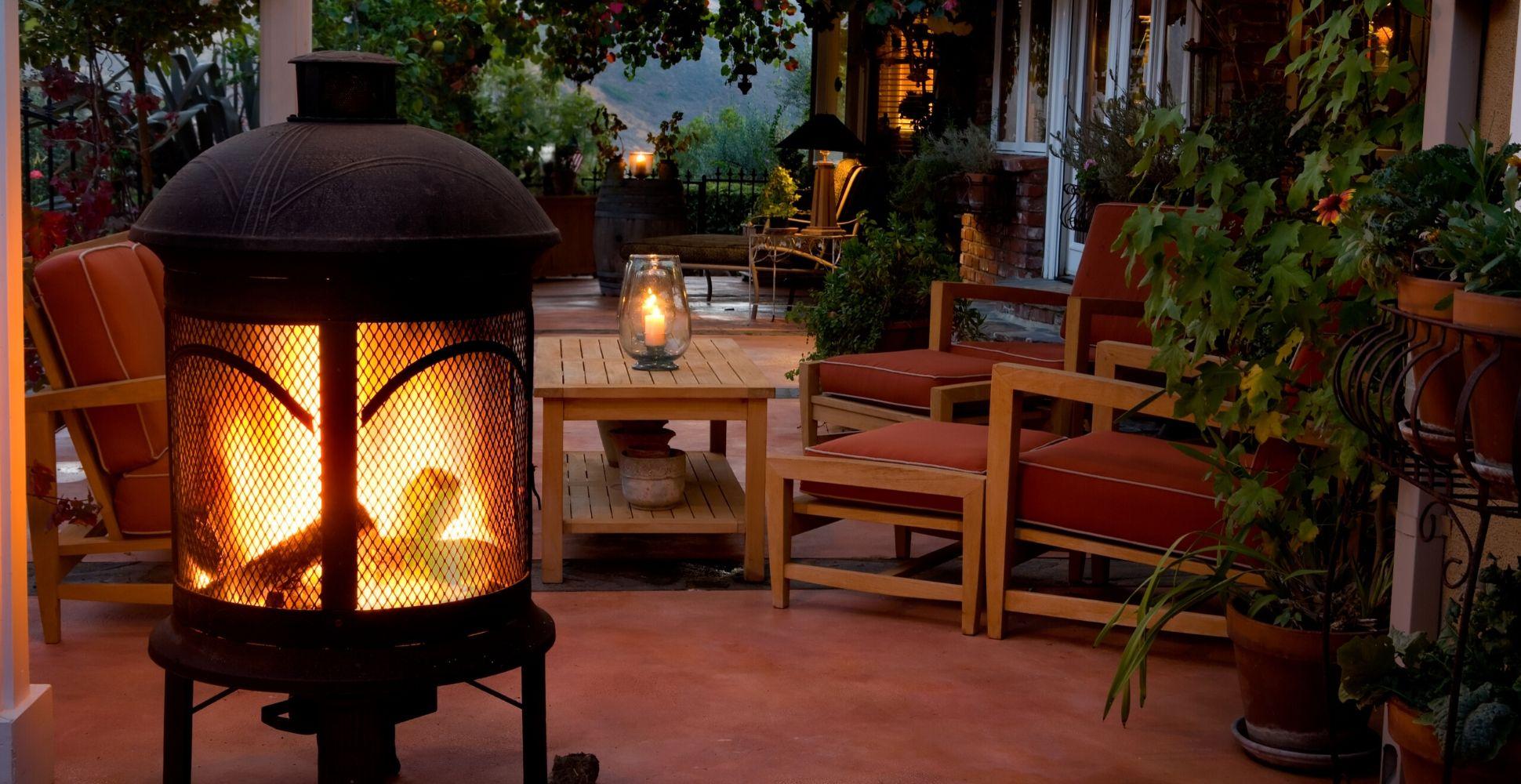 best-outdoor-fireplace