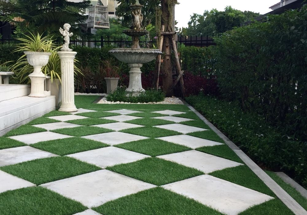 artificial-grass-benefit-easy-maintenance