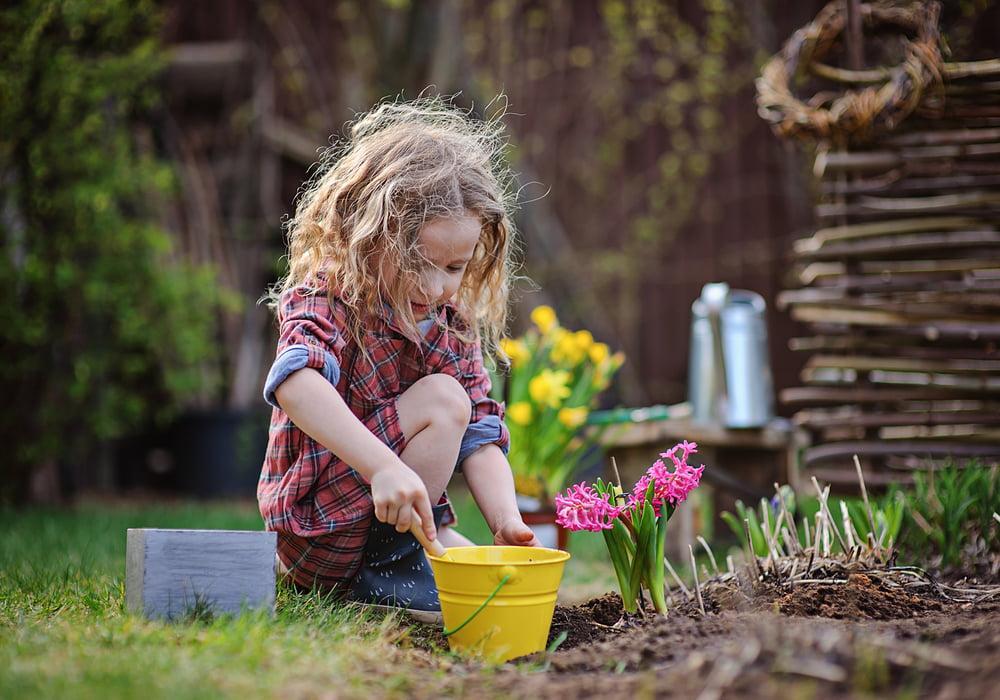 kid-planting