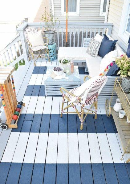 10. Garden Decking Colour