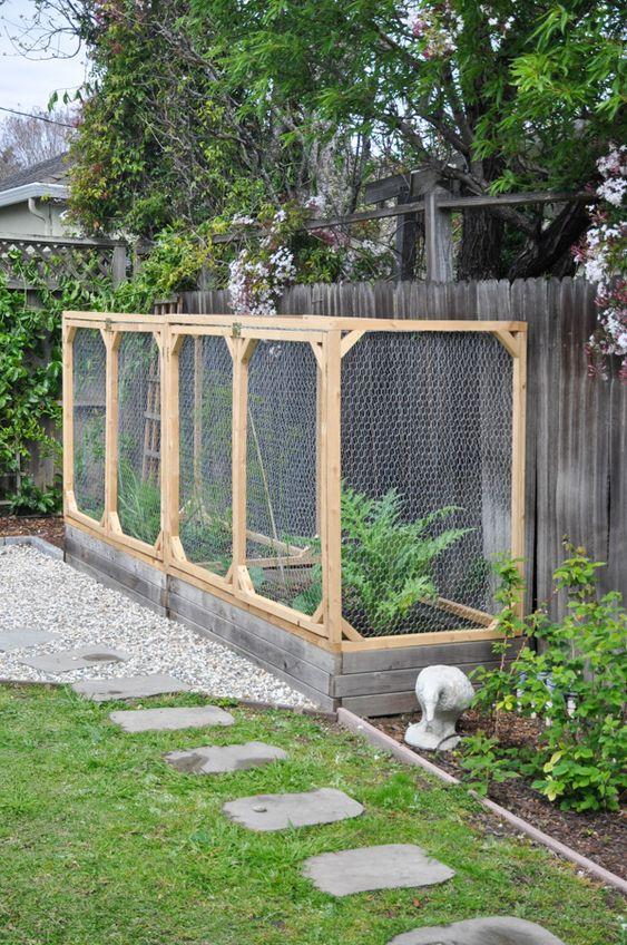 11. Cover Garden Fence
