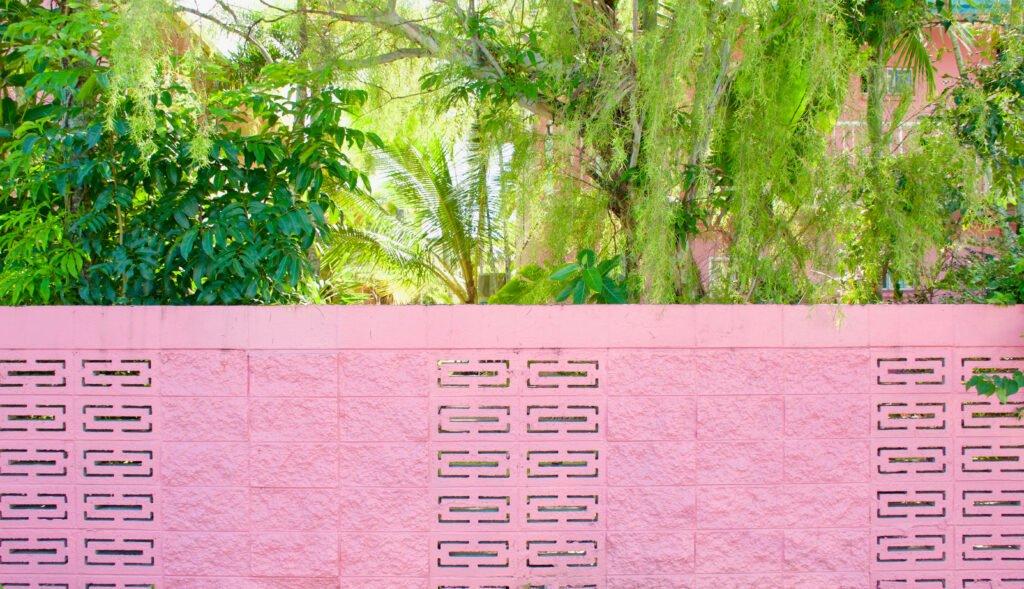 17. Breeze Block Garden Wall