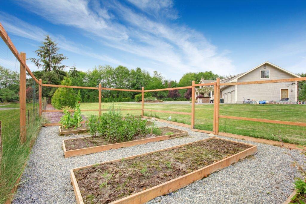 26. Vegetable Garden Fence
