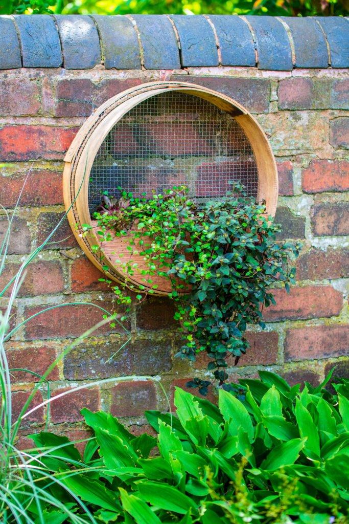 28. Garden Wall Planter