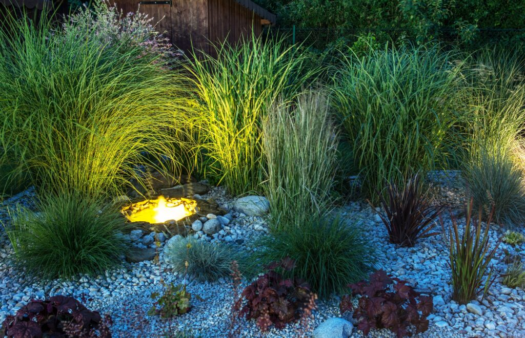 3. Small Garden Lighting