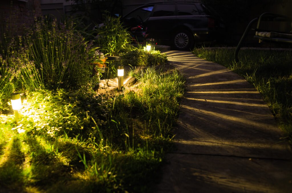 4. Outdoor Garden Lighting