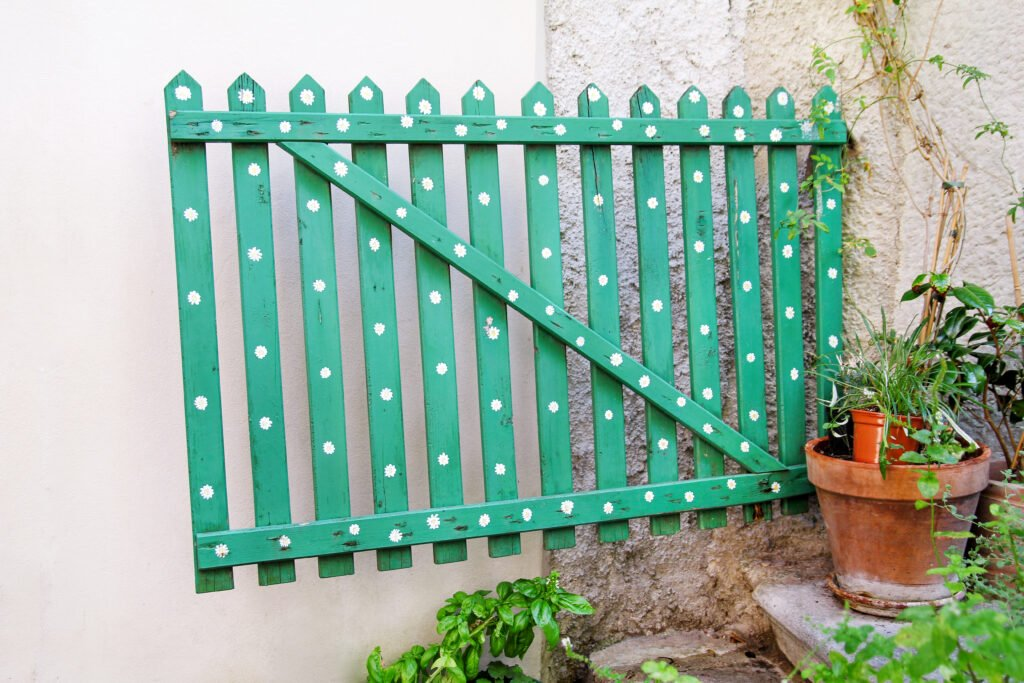 5. Garden Fence Paint
