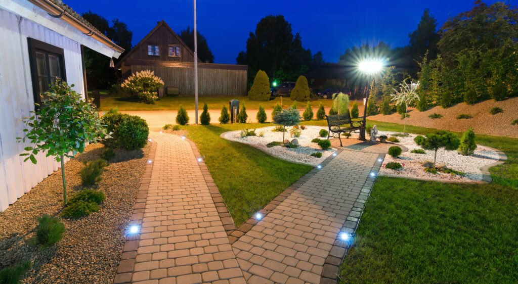 5. Garden Path Lighting