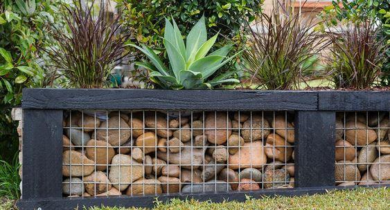 7. Small Garden Wall