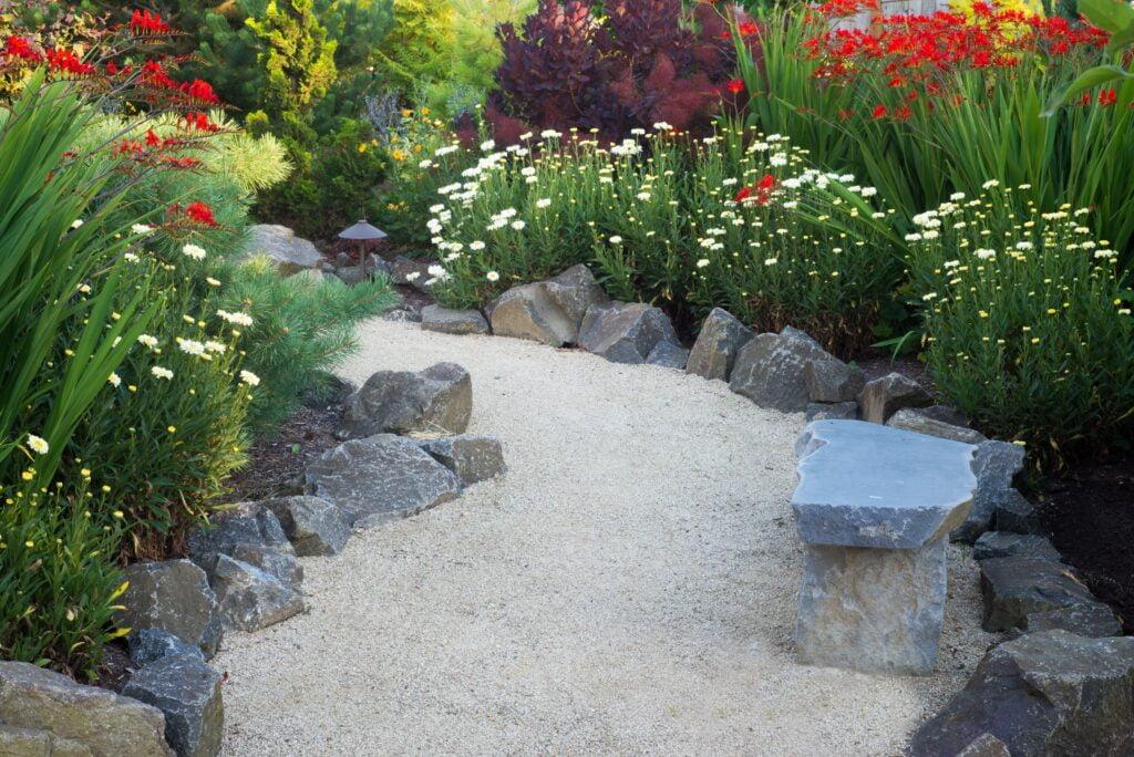 1. Garden Path Edging