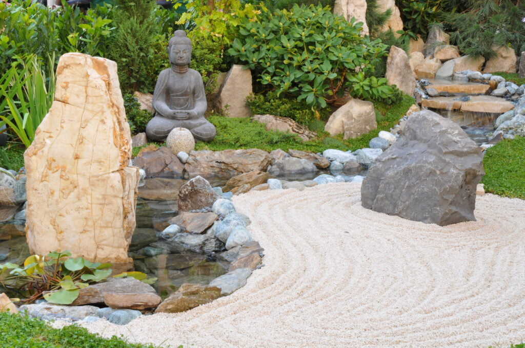 1. Japanese Garden For Small Spaces