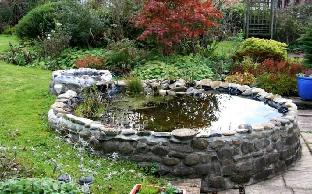 1. Raised Garden Pond