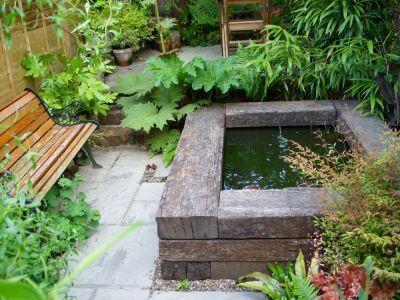 11. Corner Garden Pond