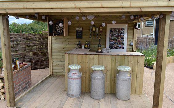 12. Garden Bar Deck